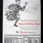 Bemis Bag Company Advertisment, 1955