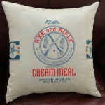 Cream Meal Pillow